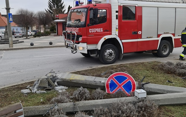 В Венгрии с погоней задержали пьяного украинца на грузовике