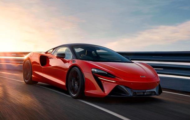 McLaren представила гибридный спорткар