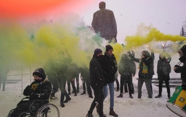 У Житомирі ультрас вимагали добудувати стадіон