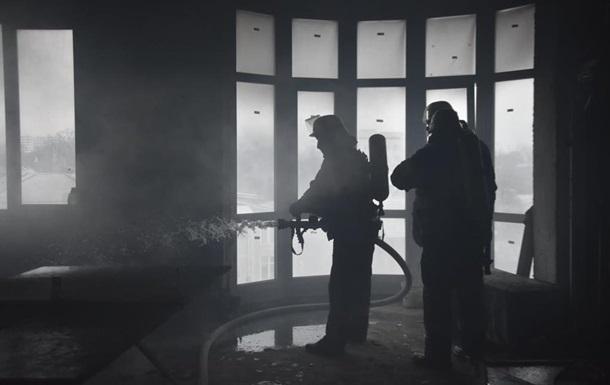 В Одесі пожежа на будівництві житлового комплексу, є жертва