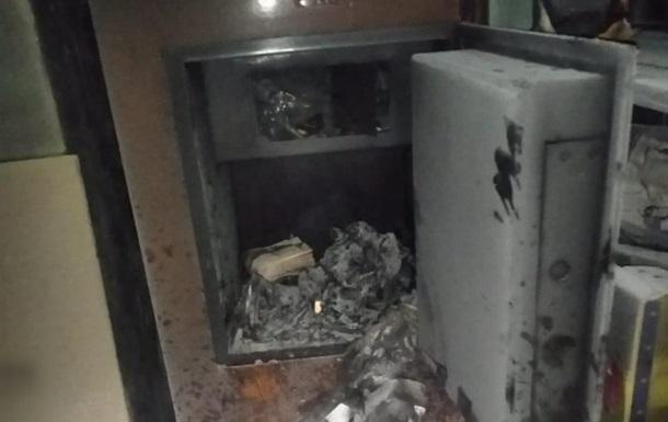 Житель Киевщины поджег почту и украл 300 тысяч гривен