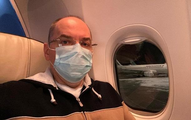 Степанов полетів до Індії домовлятися про вакцину