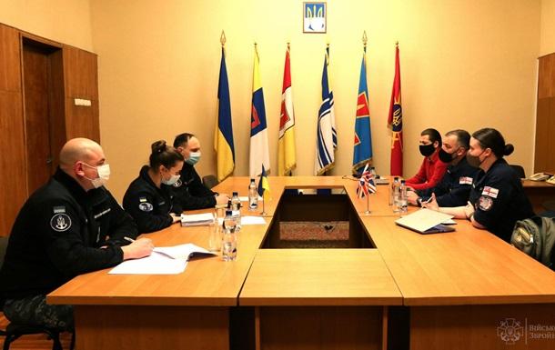 Украинские моряки будут тренироваться на кораблях ВМС Великобритании