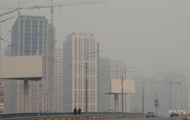 Киев на пятом месте в мире по уровню загрязнения воздуха