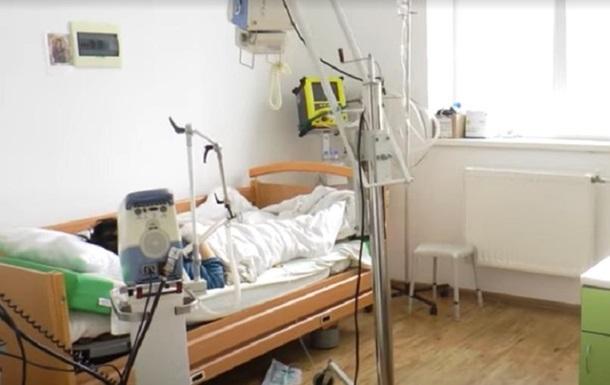 COVID-19: в Украине число госпитализаций сократилось на 30%