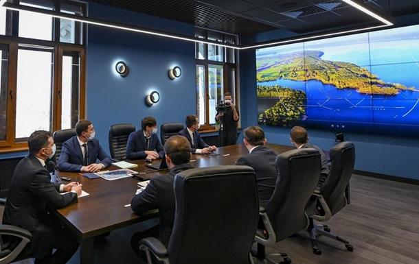 Зеленскому презентовали геопортал с базой данных