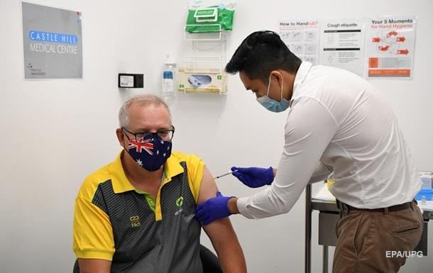 В Австралії почалася вакцинація від COVID-19
