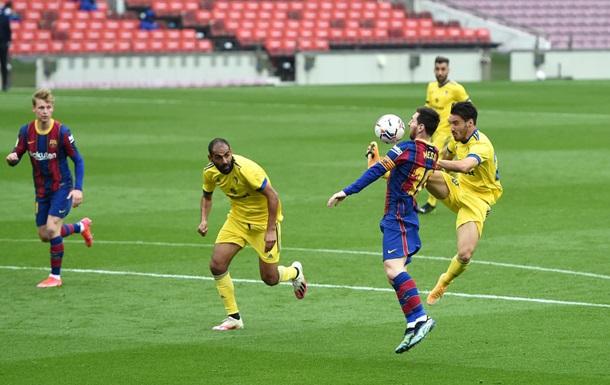 Барселона не сумела обыграть Кадис