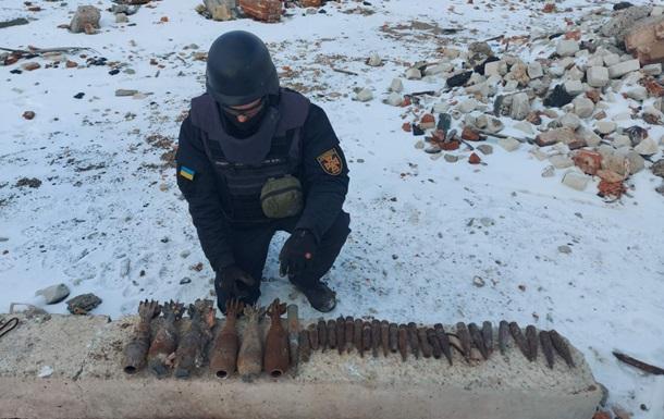 Сапери знешкодили майже 1,5 тисячі снарядів і мін в зоні ООС за тиждень