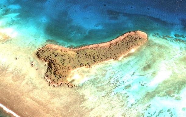 Женщина обнаружила на картах Google остров-пенис