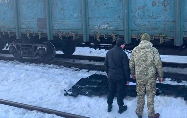 У вантажному поїзді знайшли контрабанду і GPS-трекер