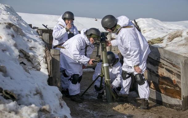 Пограничники провели минометные стрельбы
