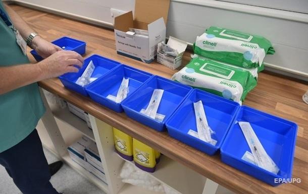 В Украине зарегистрировали вакцину от коронавируса
