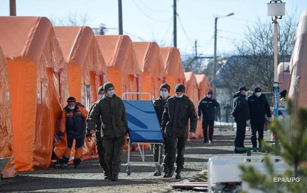 В Украине обновили зоны карантина
