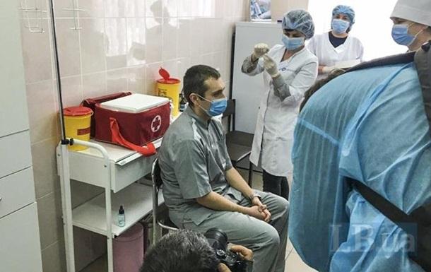 В Україні зробили перше щеплення від коронавірусу