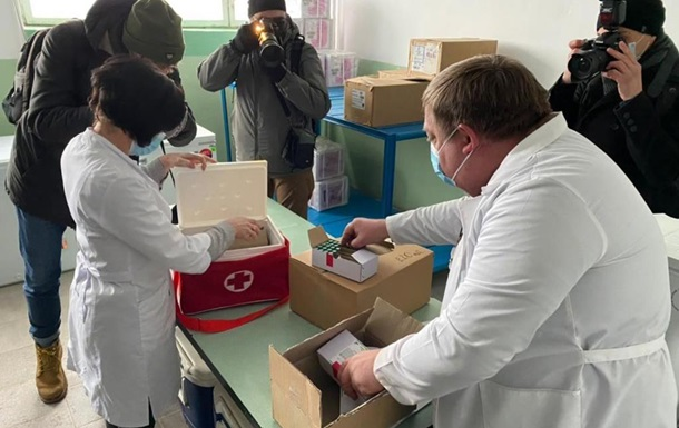 Вакцинація почалася в семи областях - Степанов