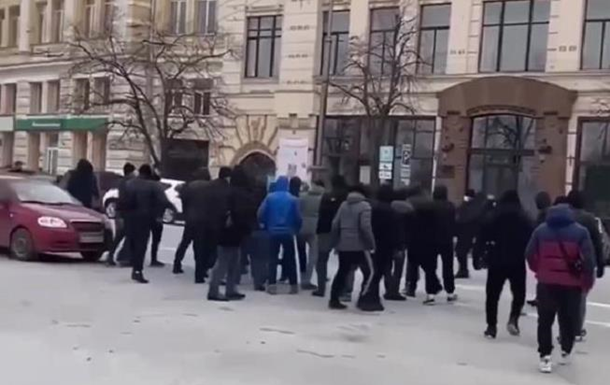 У Харкові напали на членів організації Ківи