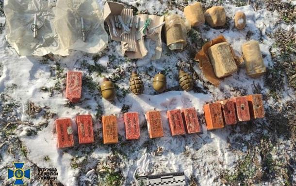 На Херсонщине СБУ обнаружила тайник с боеприпасами