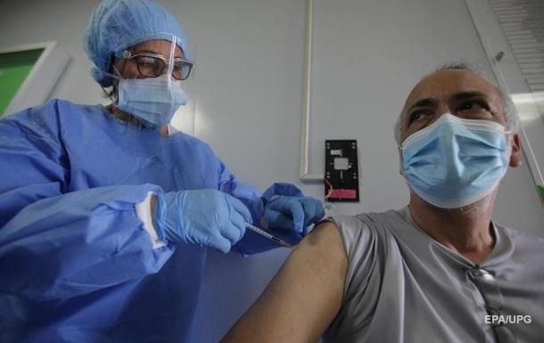 У США вакцинувалися від COVID-19 близько 66,5 млн осіб