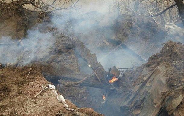 Названы имена погибших при пожаре в блиндаже трех бойцов ВСУ