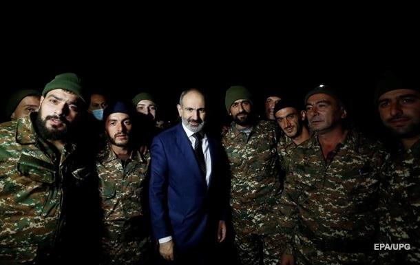 Генштаб ВС Армении подтвердил требование отставки Пашиняна