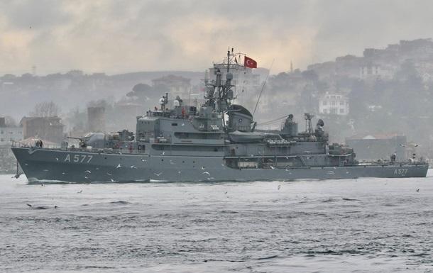 В Черное море вошли пять кораблей НАТО