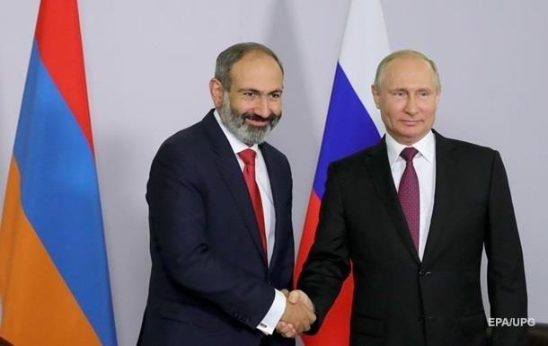 Кризис в Армении: Пашинян позвонил Путину