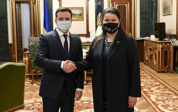 Зеленский назначил экс-министра послом в США