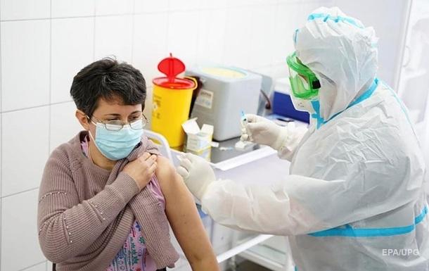 У МОЗ назвали  кількість вакцинованих за другий день