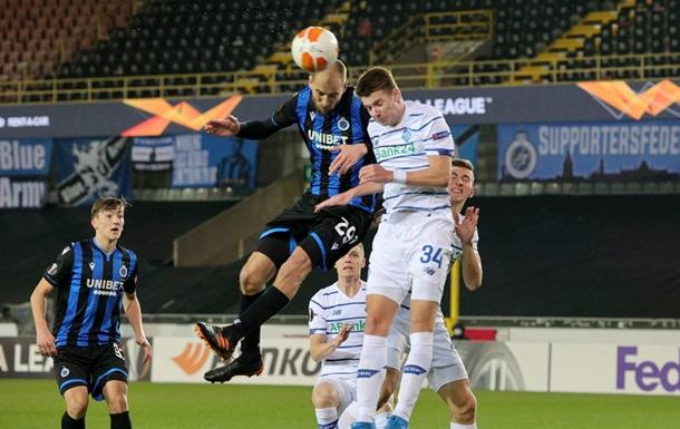 Динамо одержало выездную победу в плей-офф ЛЕ впервые с 2011 года