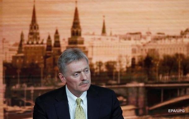 Пєсков звинуватив Київ у погіршенні відносин