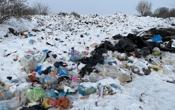 На Київщині небезпечно зберігаються відходи