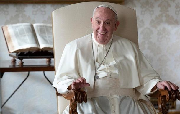 Папа Римський Франциск розповів, де хоче бути похований
