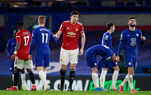 Челсі і Манчестер Юнайтед розписали нічию в матчі АПЛ