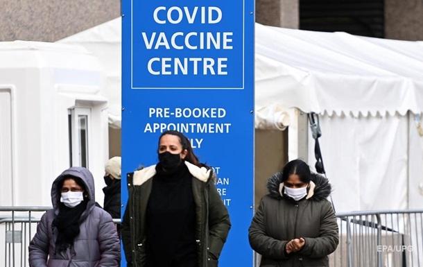 Британия вакцинировала от COVID-19 треть населения