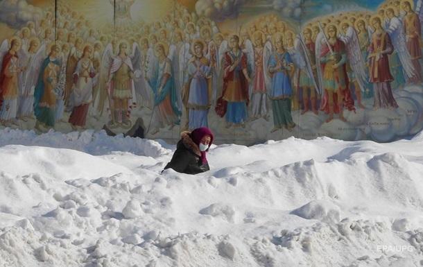 В Киеве февраль оказался холоднее климатической нормы