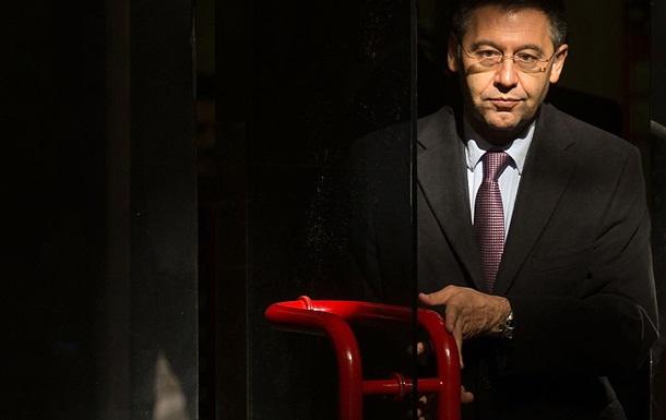 Поліція затримала екс-президента Барселони Бартомеу