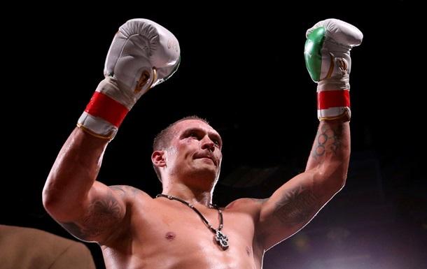 Усик зайняв перше місце в рейтингу WBA