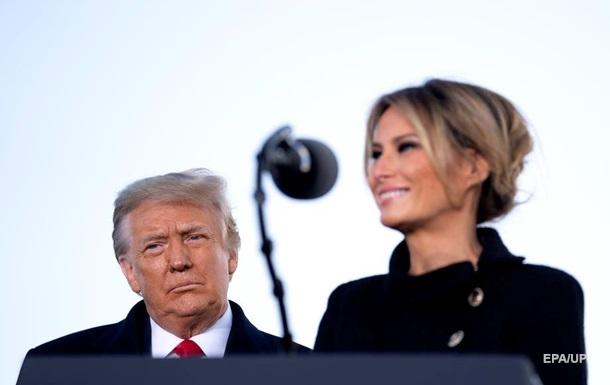 Дональд і Меланія Трамп зробили COVID-щеплення в січні - ЗМІ