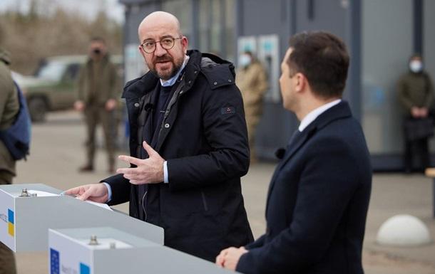Зеленський обговорив судову реформу з Мішелем