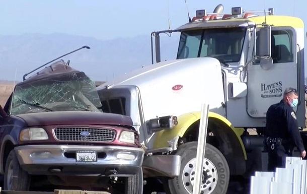 У Каліфорнії в ДТП загинули 15 осіб - ЗМІ