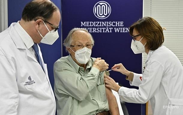 В Австрії після COVID-вакцинації померли десятки людей