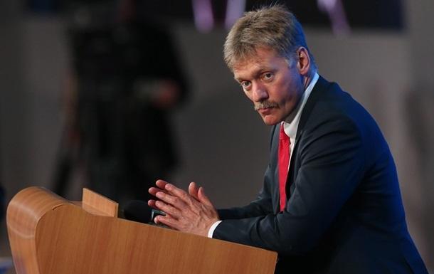 Кремль назвав нові санкції втручанням