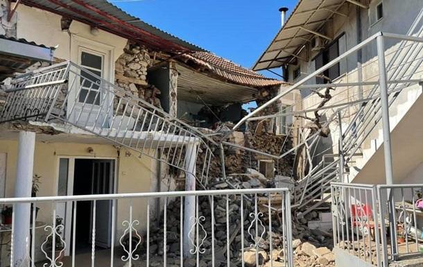 У Греції стався землетрус, є руйнування