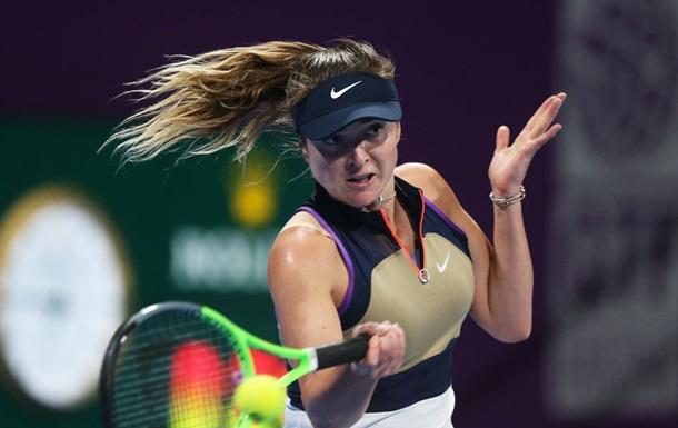 Світоліна здобула впевнену перемогу на старті турніру в Досі