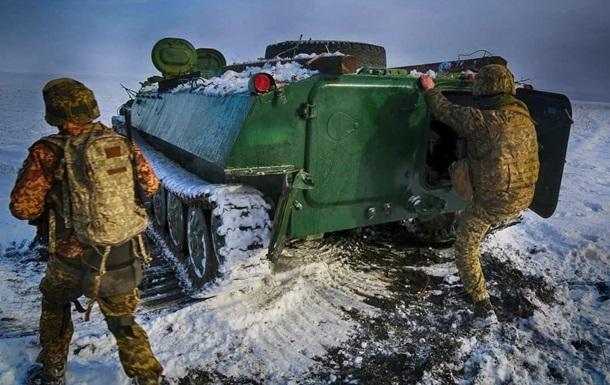 На Донбасі поранено українського бійця
