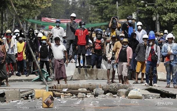 У М янмі з початку протестів загинули понад 50 осіб - ООН