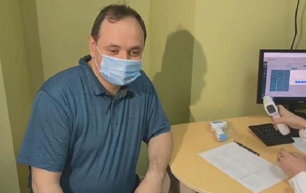 Мер Івано-Франківська вакцинувався від COVID