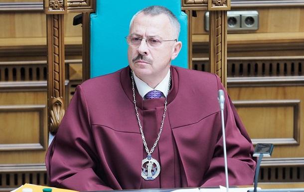 Судьи КСУ поспорили из-за кресла Тупицкого