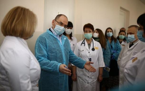 Степанов пообіцяв лікарям 23 тисячі гривень зарплати